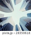 高層ビル群 超高層建築 高層ビルのイラスト 28350618