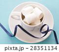 マシュマロ 洋菓子 お菓子の写真 28351134