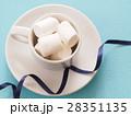 マシュマロ 洋菓子 お菓子の写真 28351135
