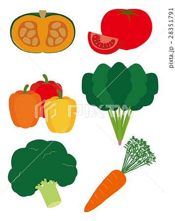 緑黄色野菜 28351791