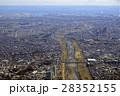 多摩川から羽田空港方面を見る 28352155