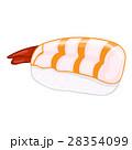 Sushi isolated illustration 28354099