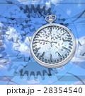 時計の歯車が時間を刻んでいく 28354540