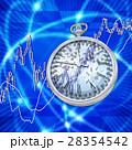 株式市場の歯車が時間を刻んでいく 28354542