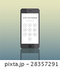 Icon Smart Phone Electronic Passcode Concept 28357291