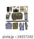 Illustration Drawing Travel Pack Collection 28357292