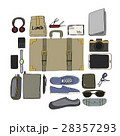 Illustration Drawing Travel Pack Collection 28357293