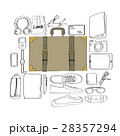 Illustration Drawing Travel Pack Collection 28357294