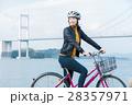 人物 女性 サイクリングの写真 28357971
