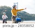 人物 女性 サイクリングの写真 28358052
