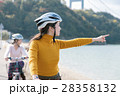 人物 女性 サイクリングの写真 28358132