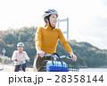 人物 女性 サイクリングの写真 28358144