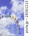 観覧車 遊園地 遊具の写真 28361213