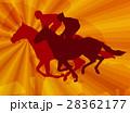 馬 ジョッキー 馬術のイラスト 28362177