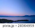 海 富士山 大瀬崎の写真 28364959