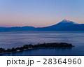 大瀬崎(おせざき)から海越しの富士山 28364960