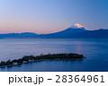 大瀬崎(おせざき)から海越しの富士山 28364961