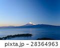 大瀬崎(おせざき)から海越しの富士山 28364963