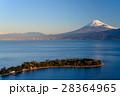 大瀬崎(おせざき)から海越しの富士山 28364965