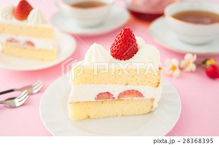 ショートケーキ イチゴショートケーキ 苺 ケーキ 洋菓子 おうちカフェ 家カフェ 28368395