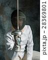 フェンシング 剣術 剣の写真 28369801