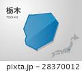 栃木県の地図 28370012