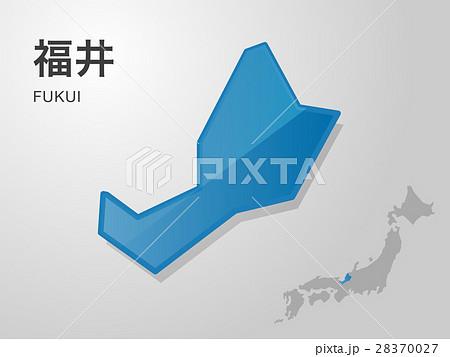 福井県の地図 28370027