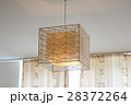 beautiful design chandelier in the room 28372264