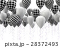 バルーン 風船 山車のイラスト 28372493