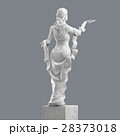 Marble Sculpture of a Young Woman 3D rendering 28373018