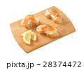 smoked salmon canapes 28374472
