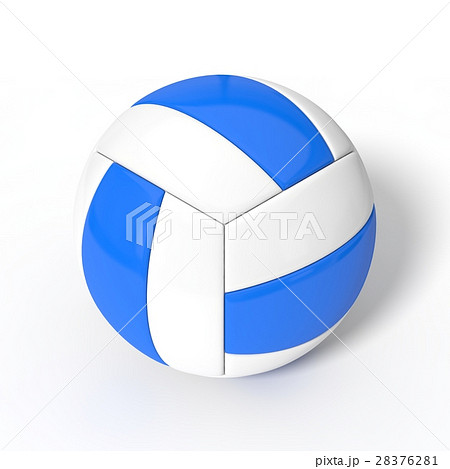 simple volleyball ball.のイラスト素材 [28376281] - PIXTA