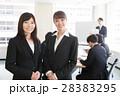 笑顔 会議 ミーティングの写真 28383295