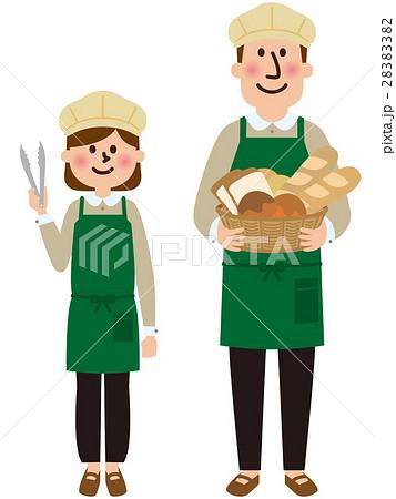 パン屋さんベクター 28383382