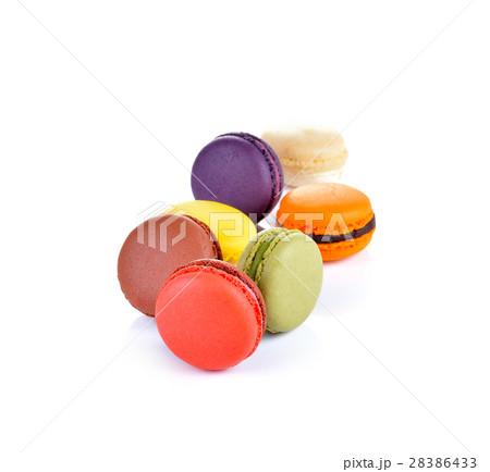 Macaroons , A delicious dessert of Franceの写真素材 [28386433] - PIXTA