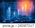 データ データー 金融の写真 28387317