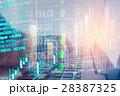 データ データー 金融の写真 28387325