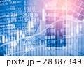 データ データー 金融の写真 28387349