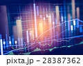 データ データー 金融の写真 28387362