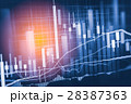 データ データー 金融の写真 28387363
