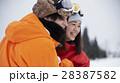 スキー場 カップル 28387582