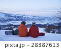 スキー場 カップル 28387613