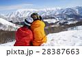 スキー場 カップル 28387663