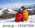 スキー場 カップル 28387666