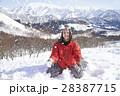 スキー場 女性ポートレート 28387715