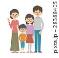 ファミリー イラスト 家族のイラスト 28388405