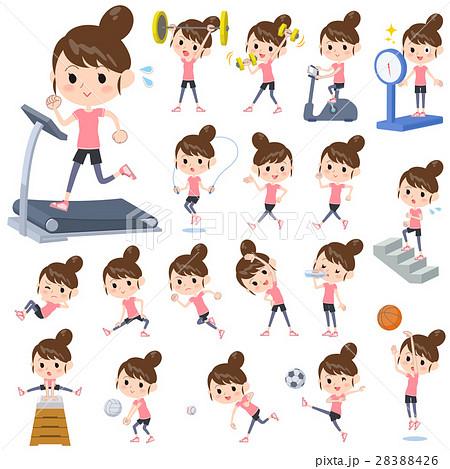 Bun hair mom Sports & exercise 28388426