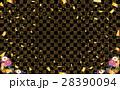 金箔 和 背景のイラスト 28390094