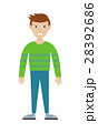 人 男 男の人のイラスト 28392686