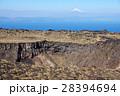 三原山 溶岩 火山の写真 28394694